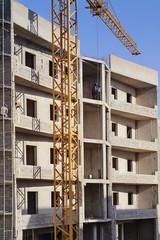 construction chantier immeuble Dakar