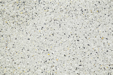 Patterned washed terrazzo surface