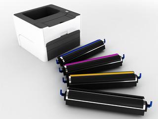 laser printer and cartridges