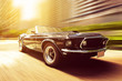 canvas print picture - Classic Cabriolet