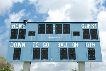 Florida - scoreboard