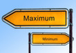 Strassenschild 5 - Maximum