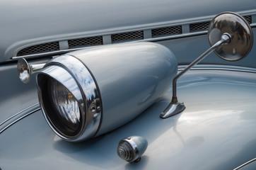 Car optics front
