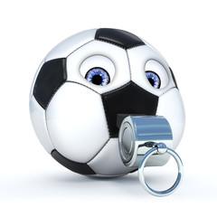 Ball mit Peife