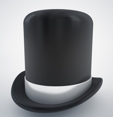 bowler or politician hat