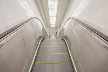 escalator in station