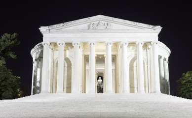 Washington, DC - Jefferson Memorial at night