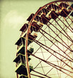 canvas print picture - Riesenrad