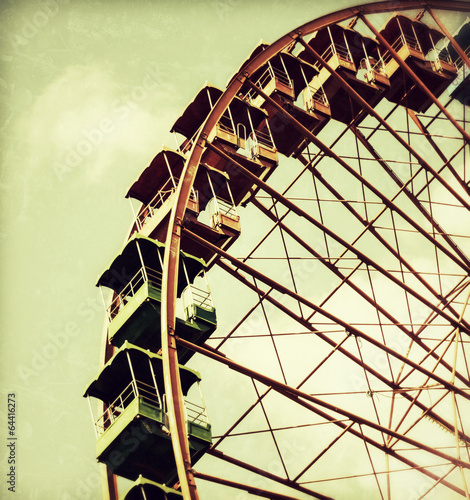 canvas print picture Riesenrad