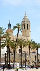 Iglesia de Sant Bartomeu y Santa, Sitges, Barcelona