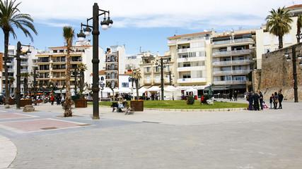 Plaza y jardines de Sitges, Barcelona