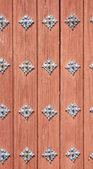 Detalle de una puerta para fondos y texturas