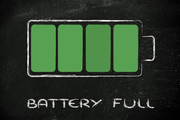phone or electronical device full battery design