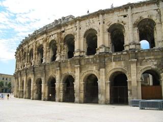 Les arènes de Nîmes, Gard