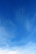 Leinwandbild Motiv Blue sky and white clouds.