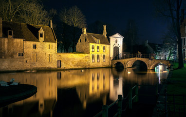 Bruge at Night