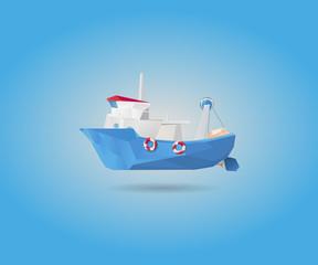 Fishing ship european