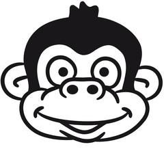 Affen Gesicht