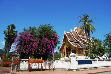 Xiengthong Temple in  Luang Prabang City at Loas