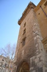 Place de l'hôtel de ville, tour de l'horloge, Aix en provence