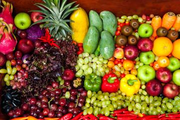 Fruits and Vegetables Still life Art Design