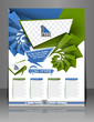Vector Front Call Center Flyer Magazine Cover & Poster