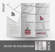 Beauty Care & Salon Tri-Fold Brochure Design