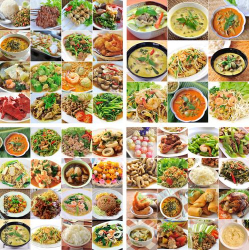 Fotobehang Restaurant Thailand Delicious Food