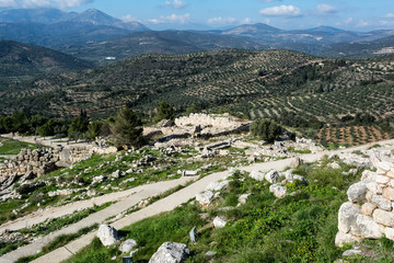 Mycenae, archaeological place in Greece