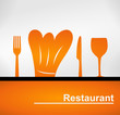 logo restaurant contemporain