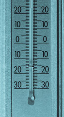 Thermometer for air temperature