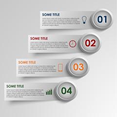 Info graphic striped colored  background