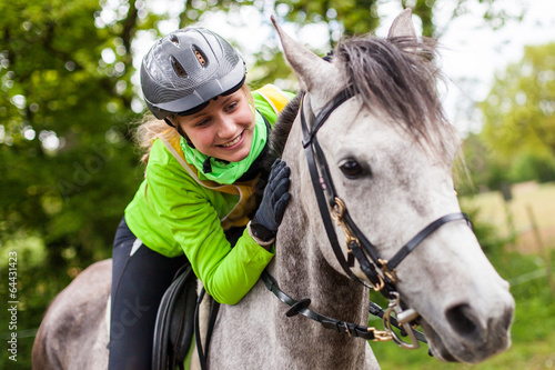 Fotobehang Paardensport Equitation