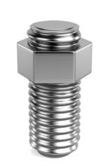realistic 3d render of screw