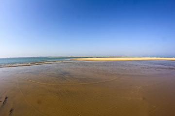 Chilika lake and ocean