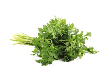 Bunch of fresh parsley.