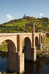 Alcantara roman bridge, Extremadura, Spain