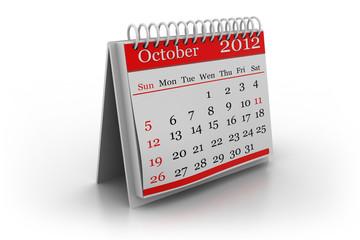 spiral calendar..