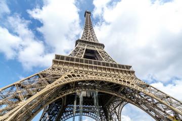 Beautiful view of Tower Eiffel