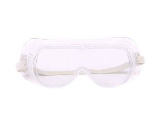 Clear protective glasses.