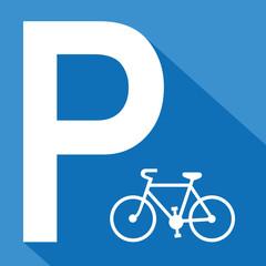 Logo parking vélo.