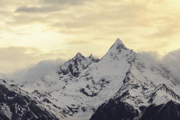 Evening time of Meili Xueshan, Meili Jokul, Snow mountain, Yunna