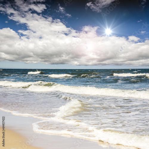 Leinwanddruck Bild Rügen: Raue, schöne Ostseeküste :)