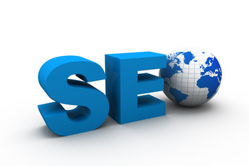 Seo, Search optimization concept.
