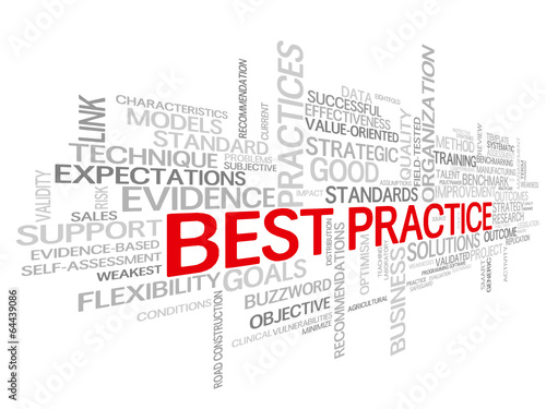 """BEST PRACTICE"" Tag Cloud (business quality process improvement)"