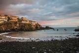 Sunset in Camara de Lobos, Madeira island, Portugal