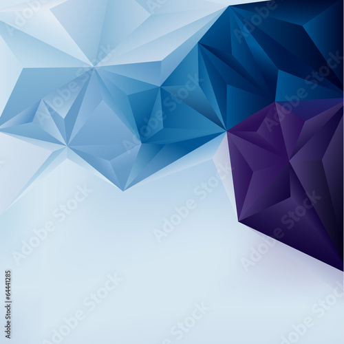 Edgy abstract background. Vector illustration. - 64441285