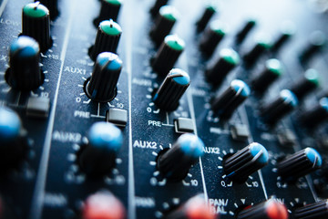 Ton Mischpult / Audio Mixer