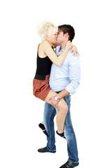 Leidenschaftlicher Kuss