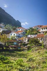 beautiful village in Madeira island, Portugal